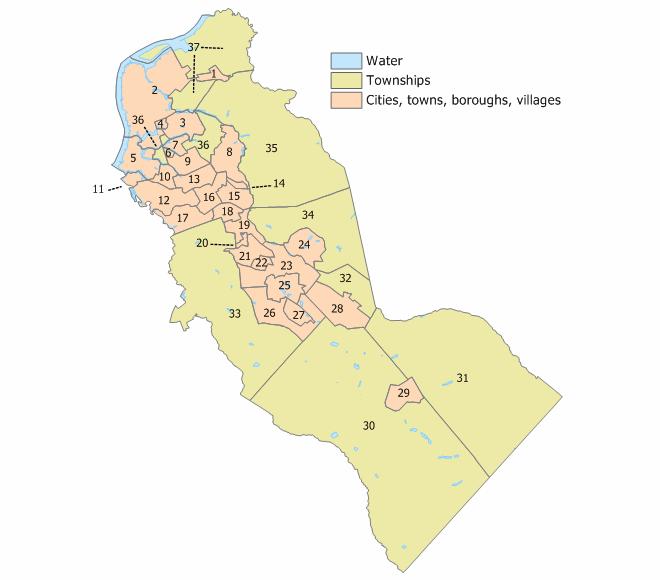 Camden Co Towns & Cities