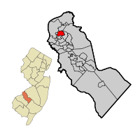 Collingswood Map in Camden Co