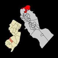 Pennsauken within Camden Co Map