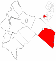 Pittsgrove Twp, Salem Co, NJ  Map