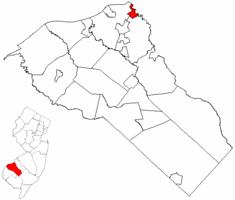 Westville NJ Map