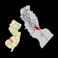 Berlin Map in Camden Co, NJ