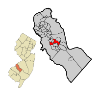 Lindenwold Map within Camden Co